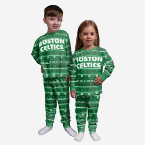 Boston Celtics Toddler Family Holiday Pajamas - 4T