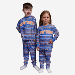 New York Knicks Toddler Family Holiday Pajamas - 2T