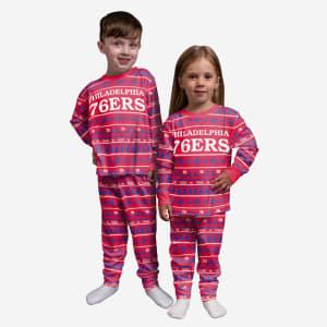 Philadelphia 76ers Toddler Family Holiday Pajamas - 3T