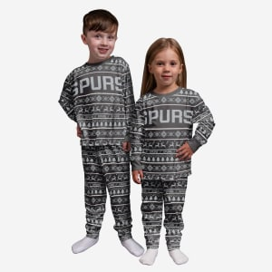 San Antonio Spurs Toddler Family Holiday Pajamas - 2T