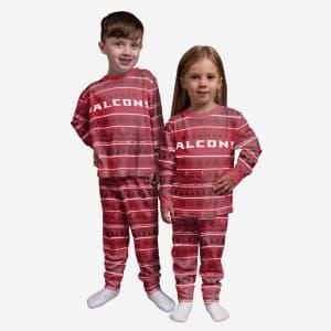 Atlanta Falcons Toddler Family Holiday Pajamas - 3T