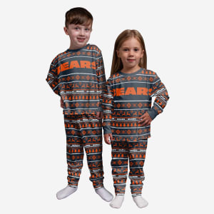 Chicago Bears Toddler Family Holiday Pajamas - 2T