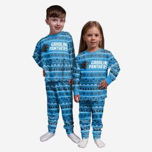 Carolina Panthers Toddler Family Holiday Pajamas - 3T