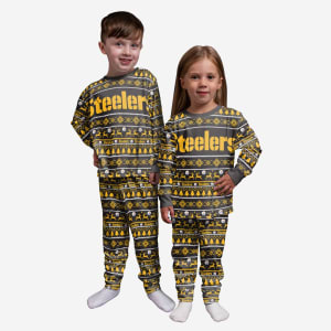 Pittsburgh Steelers Toddler Family Holiday Pajamas - 3T