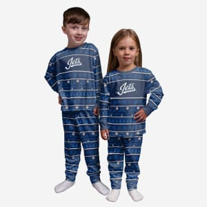 Winnipeg Jets Toddler Family Holiday Pajamas - 4T