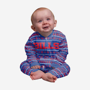 Buffalo Bills Infant Family Holiday Pajamas