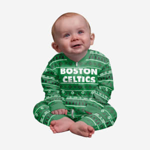 Boston Celtics Infant Family Holiday Pajamas
