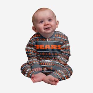 Chicago Bears Infant Family Holiday Pajamas - 24 mo