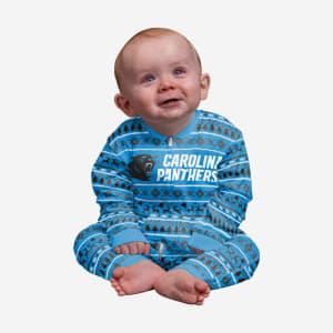Carolina Panthers Infant Family Holiday Pajamas - 24 mo