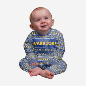 Golden State Warriors Infant Family Holiday Pajamas - 24 mo