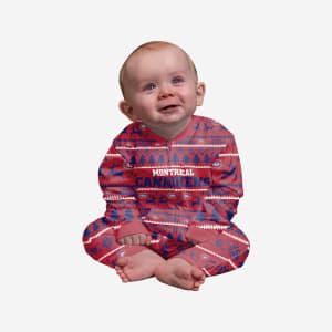 Montreal Canadiens Infant Family Holiday Pajamas - 18 mo