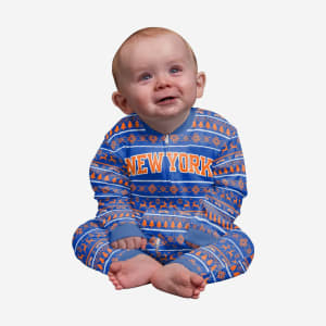 New York Knicks Infant Family Holiday Pajamas - 12 mo