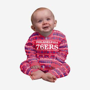 Philadelphia 76ers Infant Family Holiday Pajamas