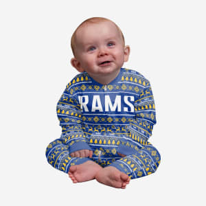 Los Angeles Rams Infant Family Holiday Pajamas - 18 mo