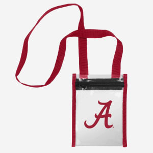 Alabama Crimson Tide Clear Crossbody Tote Bag