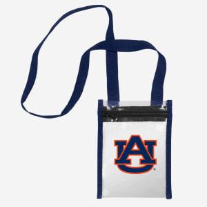 Auburn Tigers Clear Crossbody Tote Bag