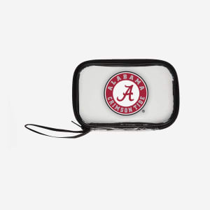 Alabama Crimson Tide Clear Wristlet