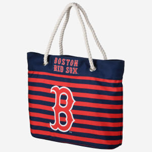 Boston Red Sox Nautical Stripe Tote