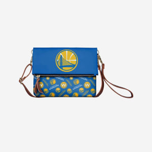 Golden State Warriors Printed Collection Foldover Tote Bag
