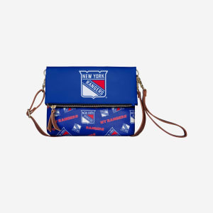 New York Rangers Printed Collection Foldover Tote Bag