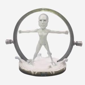 Westworld White Body Bobblehead