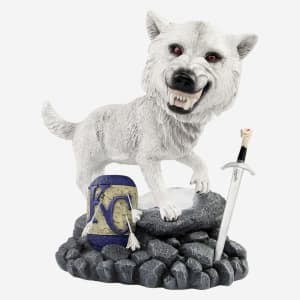 Kansas City Royals Game Of Thrones Direwolf Bobblehead
