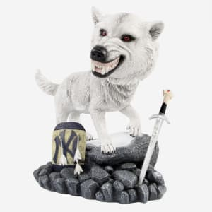 New York Yankees Game Of Thrones Direwolf Bobblehead