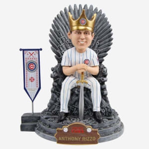 Chicago Cubs Anthony Rizzo Game Of Thrones Iron Throne Bobblehead