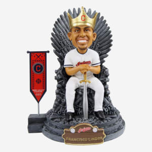 Cleveland Indians Francisco Lindor Game Of Thrones Iron Throne Bobblehead