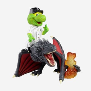 Chicago White Sox Southpaw Game Of Thrones Mascot On Fire Dragon Bobblehead