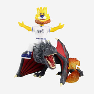 Kansas City Royals Slugerrr Game Of Thrones Mascot On Fire Dragon Bobblehead