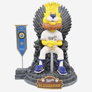 Kansas City Royals Sluggerrr Game Of Thrones Mascot Bobblehead