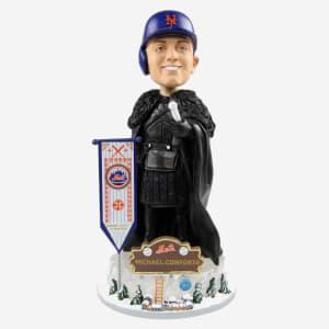 New York Mets Michael Conforto Game Of Thrones Night's Watch Bobblehead