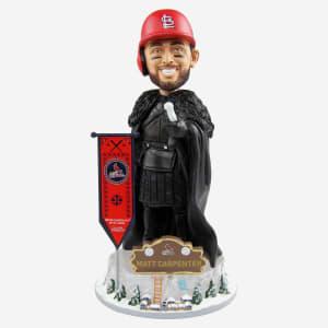 St Louis Cardinals Matt Carpenter Game Of Thrones Night's Watch Bobblehead