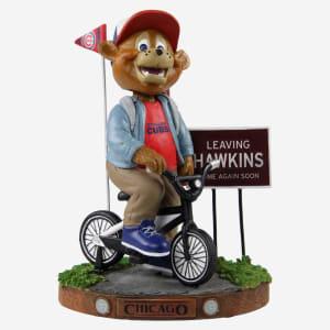 Clark Chicago Cubs Stranger Things Mascot On Bike Bobblehead