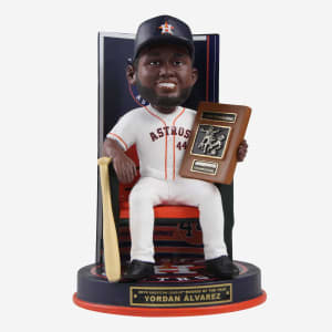 Yordan Alvarez Houston Astros 2019 American League Rookie Of The Year Award Bobblehead