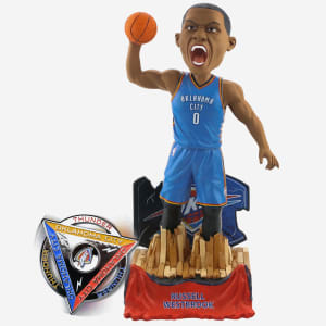 Russell Westbrook Oklahoma City Thunder Bobblehead & Diztracto Spinnerz