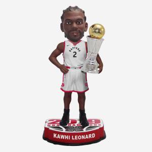 Kawhi Leonard Toronto Raptors 2019 NBA Champions MVP Bobblehead
