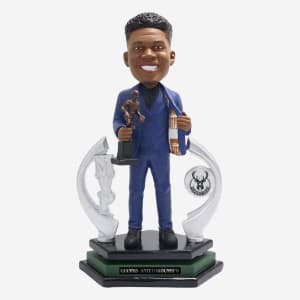 Giannis Antetokounmpo Milwaukee Bucks 2019 MVP Bobblehead