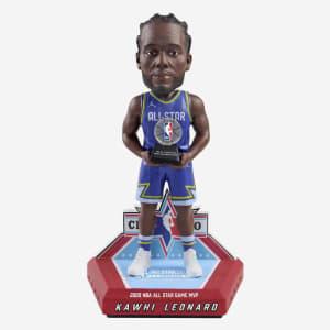 Kawhi Leonard Los Angeles Clippers 2020 All-Star Game MVP Bobblehead