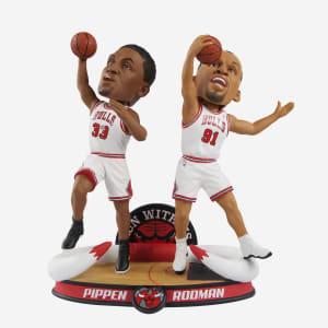 Scottie Pippen & Dennis Rodman Chicago Bulls Dual Bobblehead