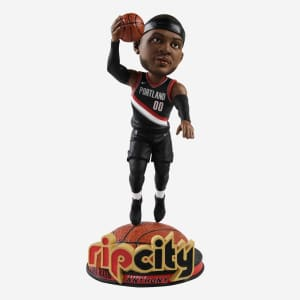 Carmelo Anthony Portland Trail Blazers Rip City Bobblehead