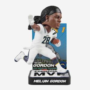 Melvin Gordon 2018 Community MVP Award Bobblehead