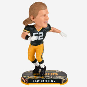 Clay Matthews Green Bay Packers Headline Bobblehead
