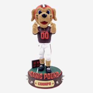 Chomps Cleveland Browns Dawg Pound Series Bobblehead