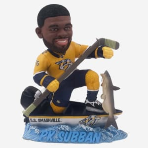 Nashville Predators PK Subban Fishing Bobblehead