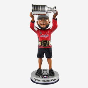 Devante Smith Pelley Washington Capitals Trophy Celebration Bobblehead