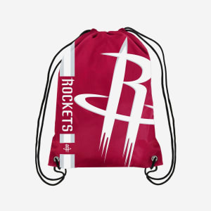 Houston Rockets Big Logo Drawstring Backpack