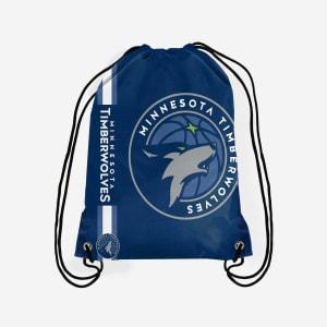 Minnesota Timberwolves Big Logo Drawstring Backpack