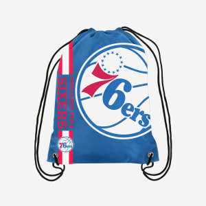 Philadelphia 76ers Big Logo Drawstring Backpack